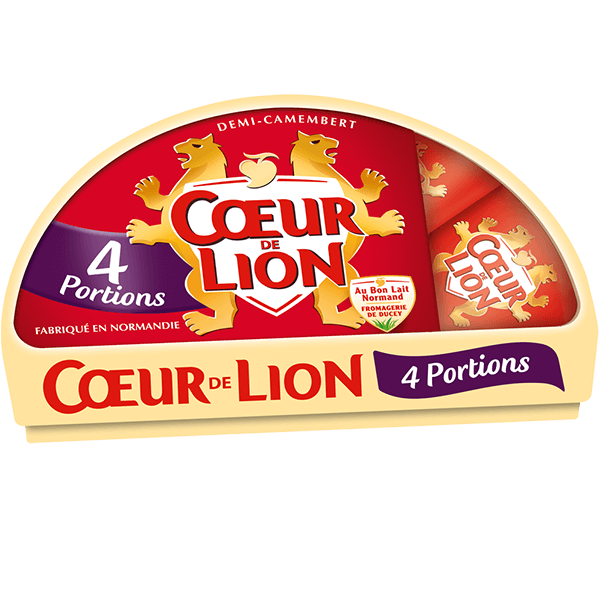 Camembert Coeur de Lion 4 portions