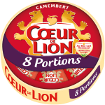 Camembert Cœur de Lion 8 portions