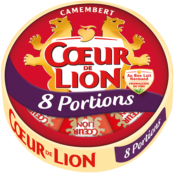 Camembert Coeur de Lion 8 portions