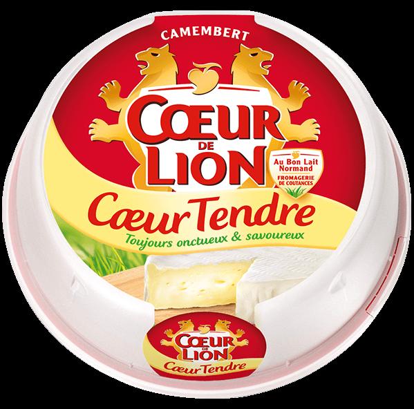 Camembert au Coeur Tendre Coeur de Lion