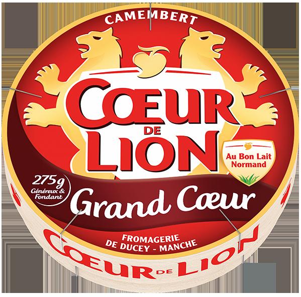 Camembert grand coeur Coeur de Lion - Pack 2021
