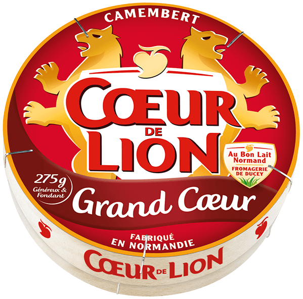 Camembert Cœur de Lion Grand Cœur