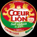 Camembert Cœur de Lion Sel réduit de 25%