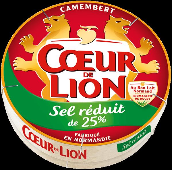 Camembert Coeur de Lion Sel Réduit
