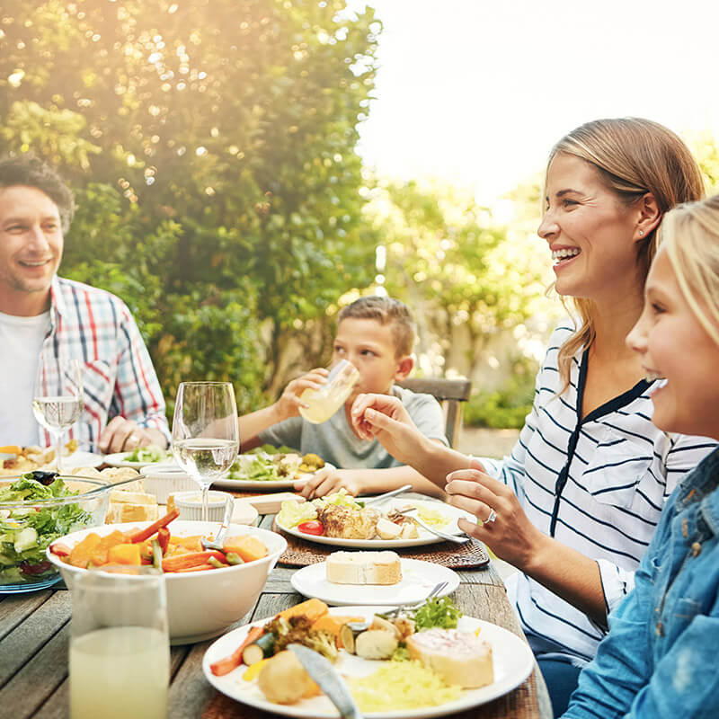 Famille repas