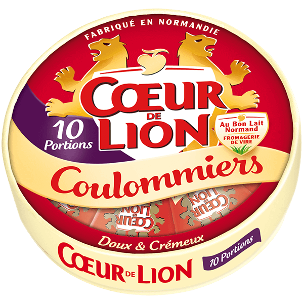 Coulommiers Coeur de Lion 10 portions